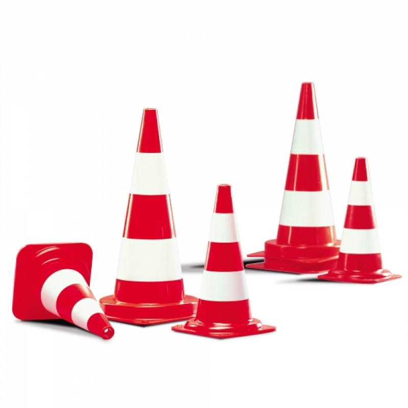 Fluorescent Traffic Cones - Off-Highway Use