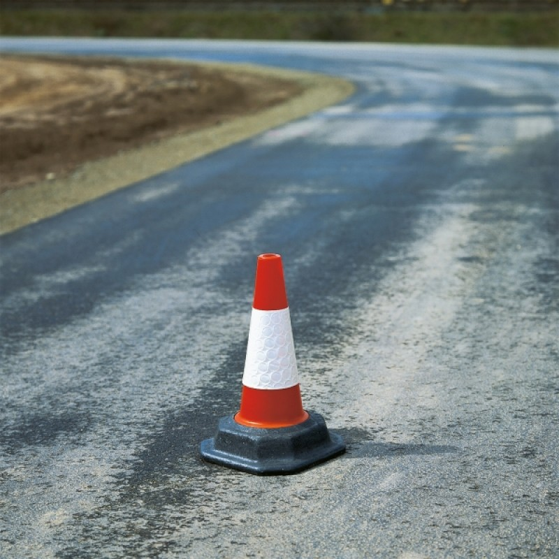 Traffic Cone - H460mm - D2 Sleeve - Recycled Base